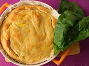 Torta rustica lievitata ripieno ricotta spinaci freschi Auguri mamma!