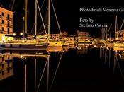 Riflessi dorati nelle calme acque porto Grado Stefano Caccia