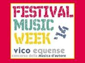 II° edizione Festival Music Week Vico Equense (NA). Iscrizioni entro domenica giugno 2014.
