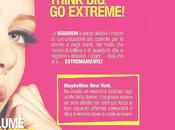 LANCIO: Colossal EXTREME Maybelline #THINKBIG_GOEXTREME