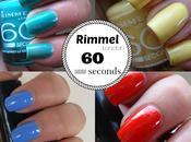 Rimmel London   Linea seconds [review swatch smalti]
