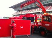 Test Barcellona Day1:Cede motore sulla Ferrari Kimi Raikkonen