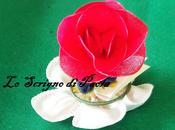 Bomboniere- Rosa realizzata collant- Scrigno Paola