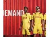 Liverpool: svelata maglia trasferta prossima stagione