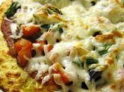 Ricetta della pizza cavolfiore (senza glutine)