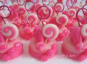 Mini-mini cake Primo compleanno Variante rosa/fucsia