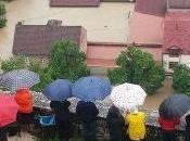 Bosnia Serbia inondate dall'alluvione. Proclamato stato d'emergenza