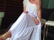 Dalila Lazzaro veste Anton Giulio Grande Carpet Festival Cinema Cannes occasione della prima film Grace Monaco