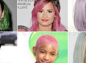 Rosa, verde, blu: tinte capelli cool sfoggiate dalle star!