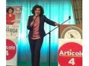 Oggi Menfi Michela Giuffrida candidata alle Europee 2014
