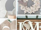 Creati passione: decorazioni complementi d'arredo nuvole legno