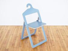 sedia anche appendiabiti: hanger chair philippe malouin