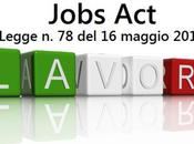 JOBS rilancio lavoro semplificazione burocratica (Legge 78/2014)