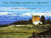 Guitars Speak terzo anno Ermanno Brignolo Andres Segovia Archive, Francia, Belgio Gran Bretagna