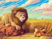 leone volpe Audio fiaba