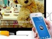 multiscreen dalla mobile: Shazam compie anno