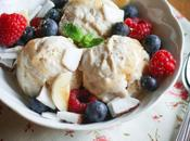 Banana frozen yogurt