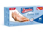 EXTRA 100, guanto Spontex latex-free prova allergie