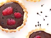 Mini tarte cioccolato fondente, lamponi pepe madagascar