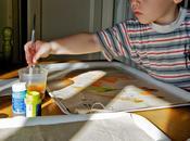 Attività bambini: tovaglietta personalizzata