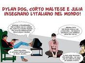"""Edizioni Edilingua presenta """"Dylan Dog, Corto Maltese Julia insegnano l'italiano mondo!"""""""