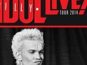 Tour Europeo Estate 2014 Billy Idol date italiane: Roma Padova.