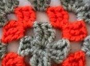 Borsa crochet granny square