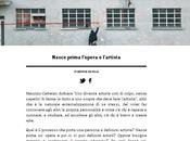 Nasce prima L'opera l'artista publish Town