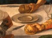libro cucina d'arte segno Pontormo