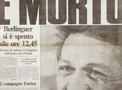 anni morte Enrico Berlinguer