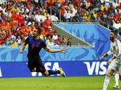 Mondiali Brasile 2014, girone Manita dell'Olanda campioni tutto della Spagna