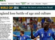 """INGHILTERRA ITALIA 1-2: """"Perché sempre LORO?"""" chiede TIMES Londra. concetto follia (calcistica?) einsteniano."""