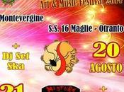 agosto 2014: Notti Solleone musica contro caldo! Maglie Otranto.