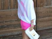 Outfit fucsia bianco
