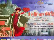 L'Arte Cuore Onlus porta scena musical Hello darling