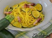 Pasta zucchine zafferano