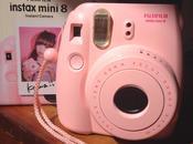 Instax Mini l'Instant Camera bella rosa)