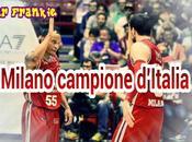L'Olimpia Milano campione d'Italia