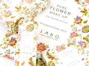 close make n°239: LABO suisse, Pure flower Make-up (rossetto, duo-blush duo-ombretto)