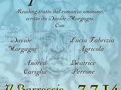 """luglio 2014 Lecce pornomadi"""", reading Davide Morgagni, Andrea Cariglia, Lucia Fabrizia Agricola, Beatrice Perrone, presso BARROCCIO"""