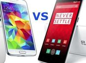 Samsung Galaxy Oneplus One: video confronto italiano