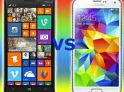 Samsung Galaxy Nokia Lumia 930: video confronto italiano