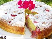 Torta veloce fragole more