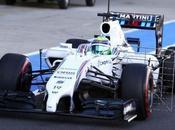 Massa nella prima giornata test Silverstone
