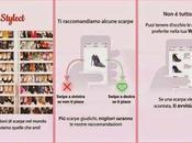 Stylect: l'App aiuta comprare scarpe