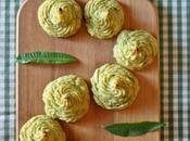 Duchesse patate fagiolini all'aglio orsino Green beans wild garlic duchess potatoes