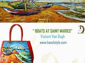 BOATS SAINT MARIES, VINCENT GOGH...colore mare!