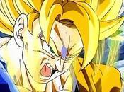 Goku trasforma super sayan prima volta
