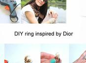 ring inspired Dior!