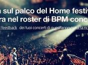 """SPLITGIGS Lancia nuovo servizio """"FEEDBACK"""". palio live all'Home Festival 2014 l'ingresso roster Concerti"""